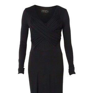 AllSaints Black Fenella Cocktail Dress
